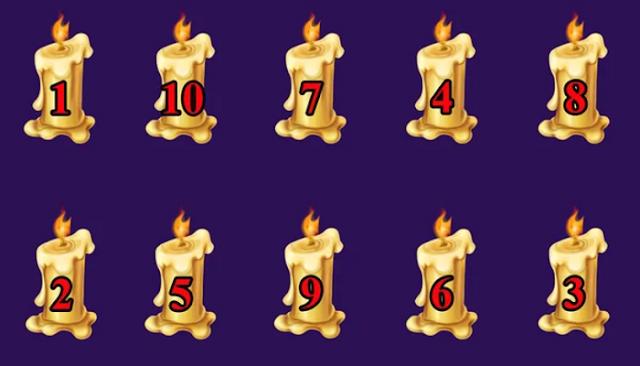 Выберите свечу и посмотрите, сбудется ли ваше желание в Новом году!