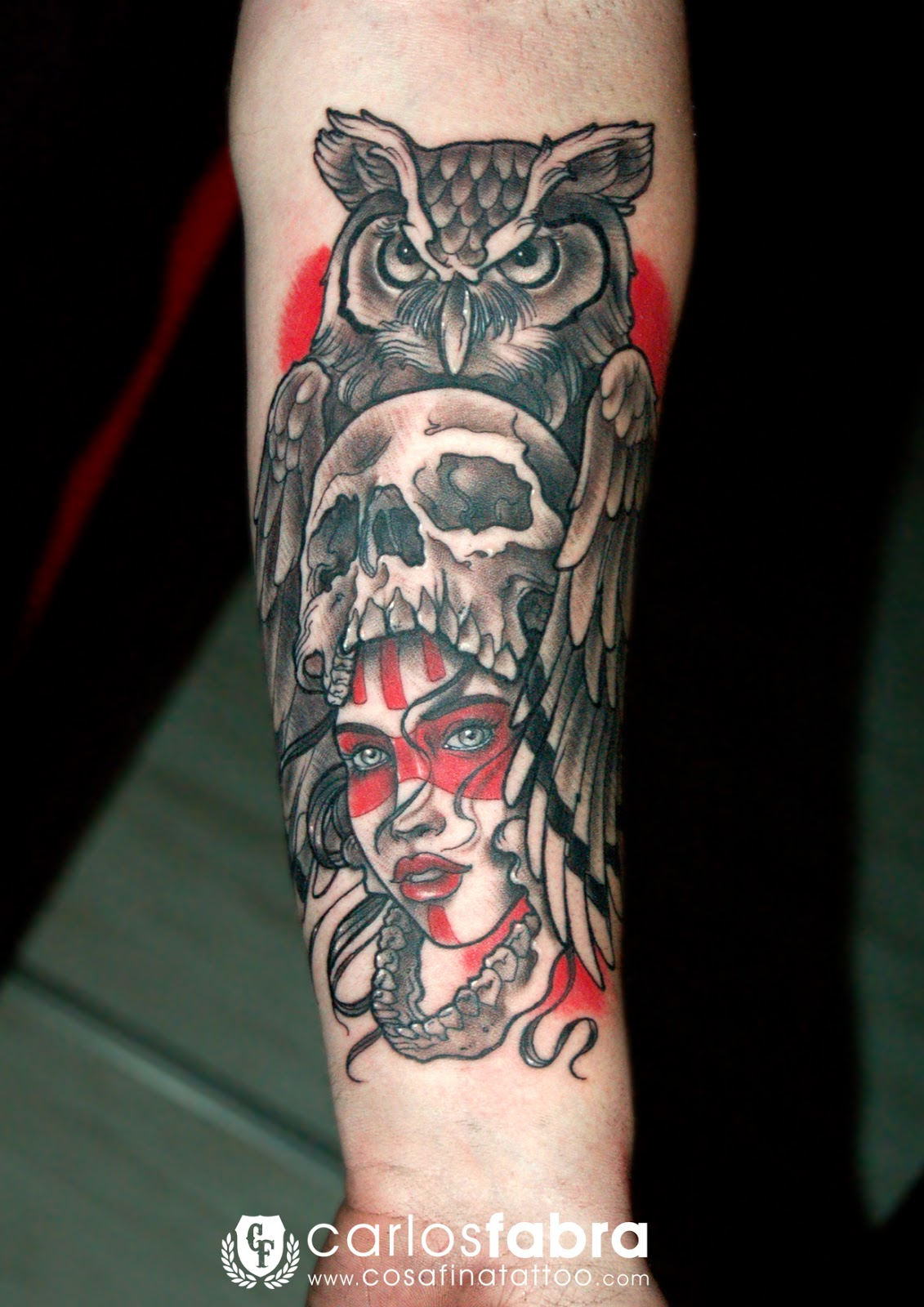 Cosafina Tattoo Carlos Art Studio Tatuaje Neotradicional -4548