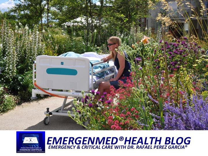 Emergenmed health blog los jardines en los hospitales for Jardines terapeuticos en hospitales