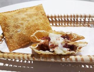 Versatilidade do queijo de leite de búfala faz sucesso na alimentação rápida de pastelaria