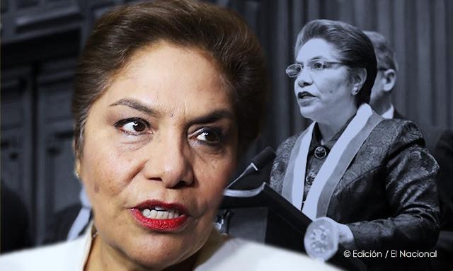 Luz Salgado congresista Fujimorista