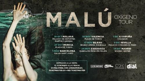 Concierto de Malú en Málaga