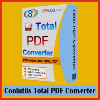 Coolutils Total PDF Converter 6.1.121 Serial Key, Crack, Full Version Free Download