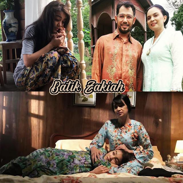 Telefilem Batik Zakiah sinopsis