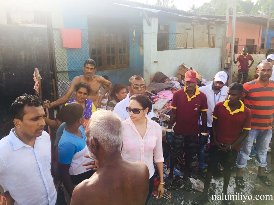 Janaki Wijerathne help out people