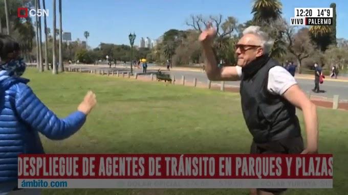 Quién es el hombre que agredió a Roberto Funes Ugarte en el móvil de C5N