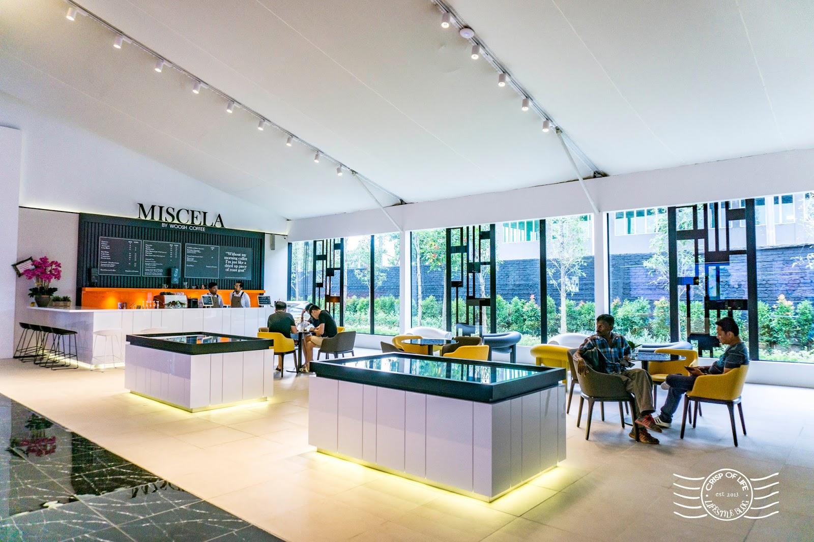 Miscela by Woosh Coffee @ Beacon Concept Gallery, Jalan Sungai Pinang