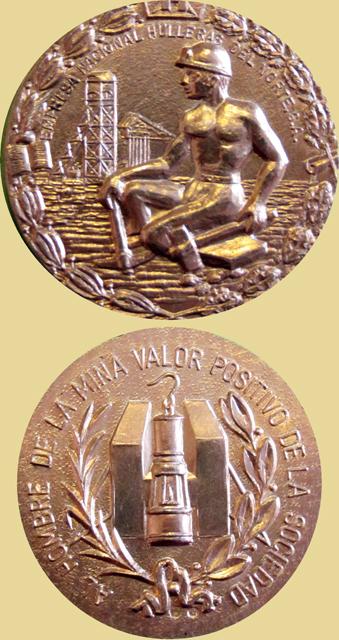 Medalla Al Hombre de la Mina, valor positivo de la Sociedad, HUNOSA