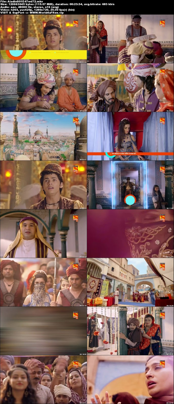 Aladdin 2018 Hindi Season 01 Episode 47 720p HDTV 150Mb x264 world4ufree.fun tv show Aladdin 2018 hindi tv show Aladdin 2018 Season 11 Sony tv show compressed small size free download or watch online at world4ufree.fun