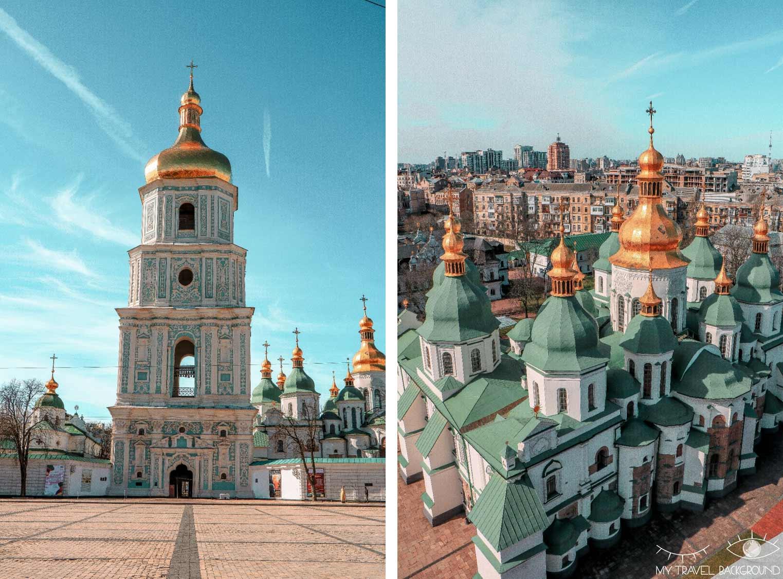 My Travel Background : visiter Kiev, la capitale de l'Ukraine, top 10 - Cathédrale Sainte-Sophie