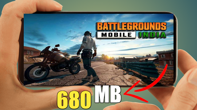 680 MB Pubg India BGMI Android Game Highly Compressed File