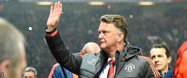 Van Gaal's judgement was questioned by some United fans at Old Trafford