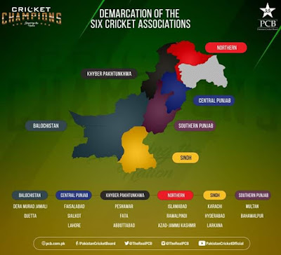 New Structure for Pakistan Domestic Cricket Unveiled by PCB