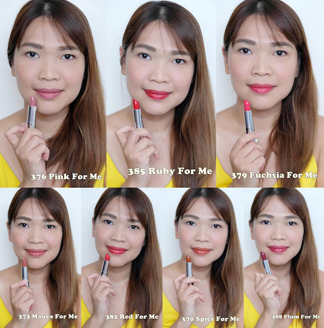 a photo of Maybelline Made For All Lipsticks exclusively available in Lazada.  Maybelline Made For All Lipsticks Review