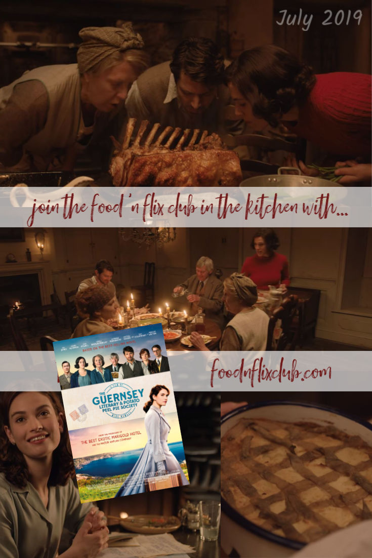 Recipes inspired by The Guernsey Literary and Potato Peel Pie Society for #FoodnFlix Club, July 2019