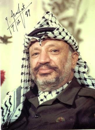 O grande líder Yasser Arafat