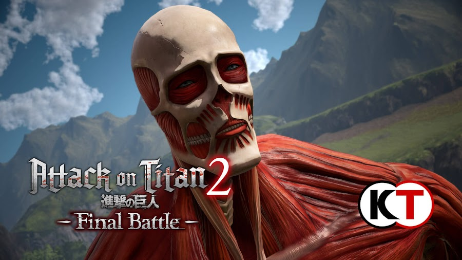 attack on titan 2 final battle new hero armin titan pc ps4 xb1 koei tecmo