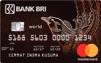 5 Rekomendasi Kartu Kredit Terbaik Untuk Mengumpulkan Miles - Kartu Kredit Bank BRI - BRI World Access