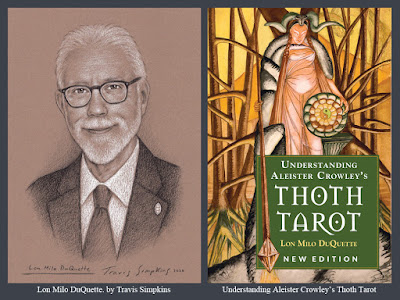 Lon Milo DuQuette. Thoth Tarot. Aleister Crowley. Magick. Ordo Templi Orientis. Thelema. by Travis Simpkins
