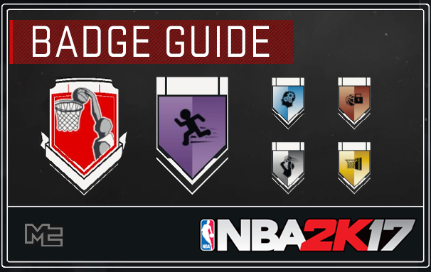 NBA 2K17 Badges Guide Tutorial