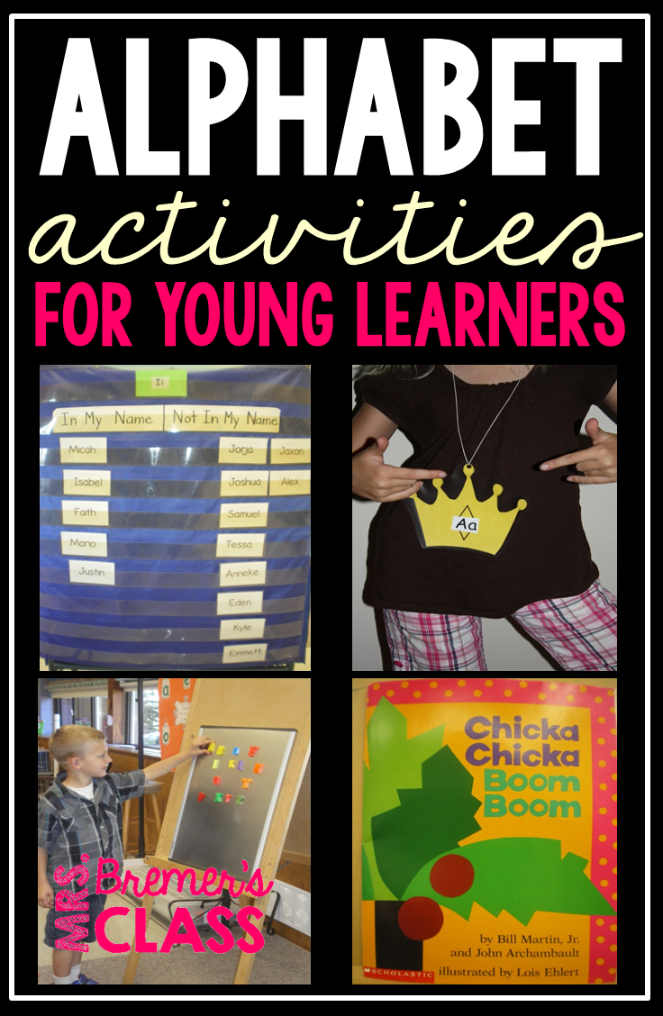 Mrs. Bremer\'s Class: Chicka Chicka BOOM BOOM and Alphabet Activities ...