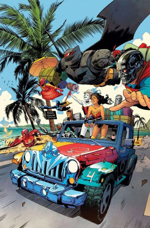 Cover of DC Cybernetic Summer