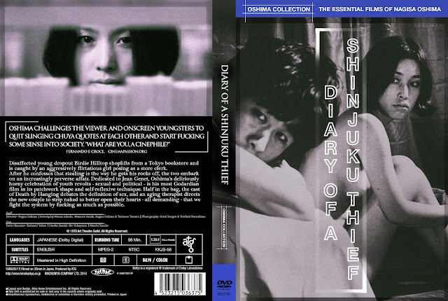 Diary of a Shinjuku Thief (Shinjuku dorobô nikki) DVD Cover