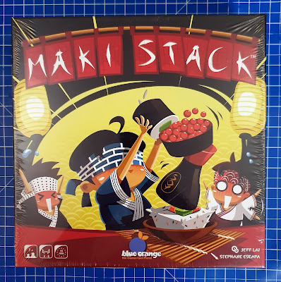 Maki Stack Family Game Review for Asmodee Blue Orange pack shot