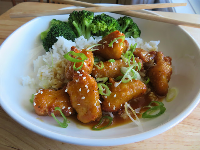 Chinese Orange Chicken for Two