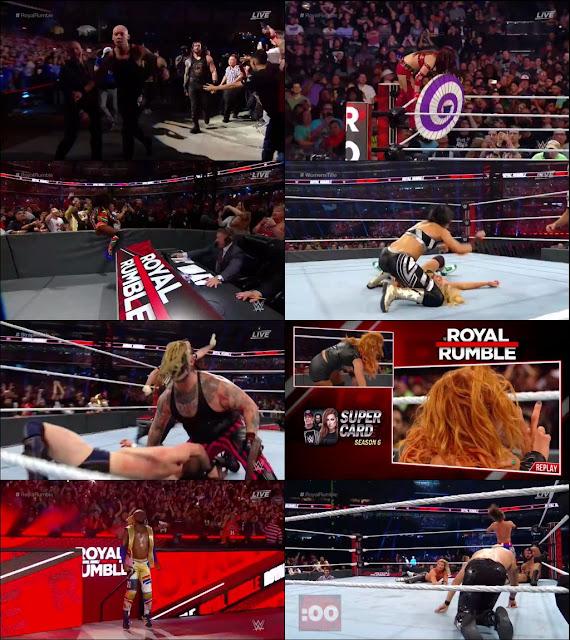 WWE Royal Rumble 2020 PPV 720p WEBRip