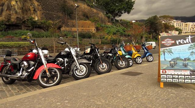 Harley-Davidson and Vespa to rent
