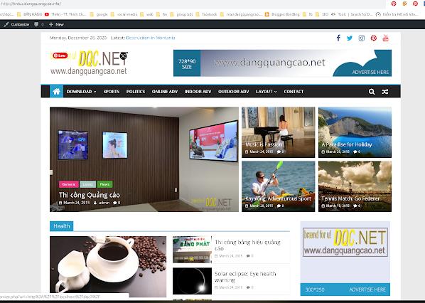 Subdomain tên miền thứ cấp http://dangquangcao.info/