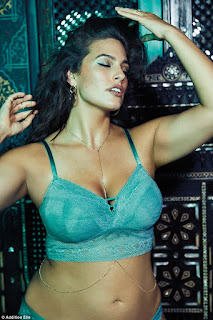 Ashley Graham looked stunning in new lingerie set from Addition Elle