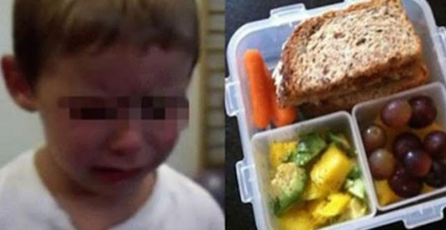 This Four-year-old Is In Tears After A Teacher Throws His Lunch In The Trash, Telling Him He Will Never Be Able To Eat It At School