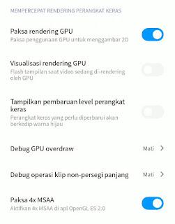 Cara Mengatasi Lag Game Dengan Opsi Pengembang Android