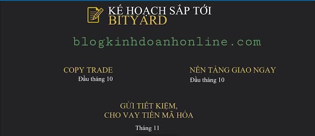 Bityard trading - Sàn giao dịch số 1 hiện nay