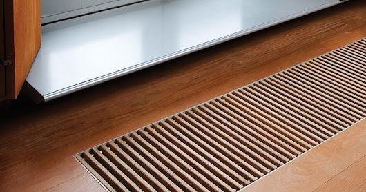 Trench Heating Grille Selection
