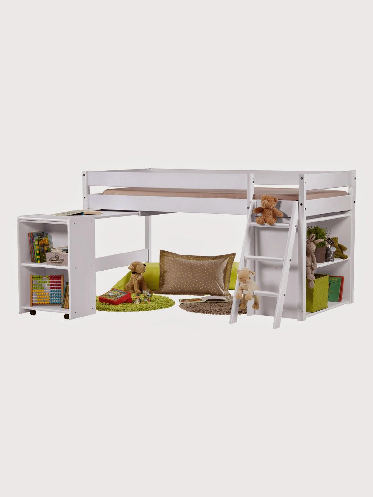lit enfant mezzanine fly maison design. Black Bedroom Furniture Sets. Home Design Ideas