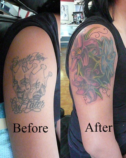 Hannikate cover up tattoos ideas before and after
