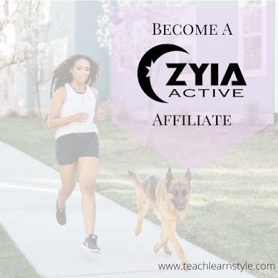 Get free and half priced activewear by becoming a Zyia Active affiliate.