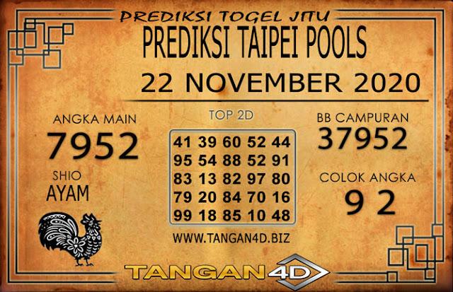 PREDIKSI TOGEL TAIPEI TANGAN4D 22 NOVEMBER 2020