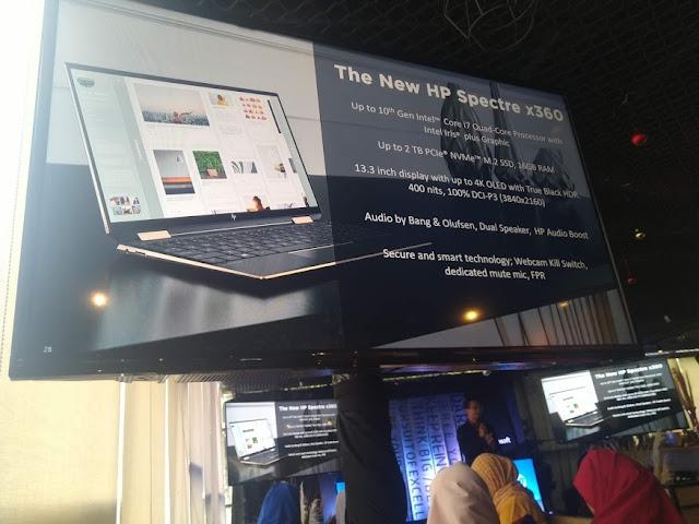 Spesifikasi HP Spectre x360