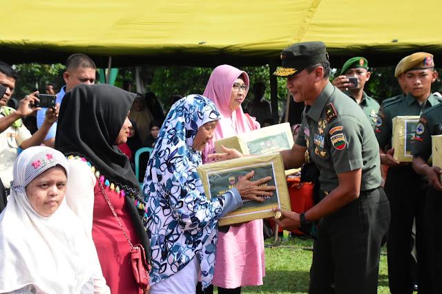 Peringati Hari Juang TNI AD, Korem 031/WB Merasa Lebih Dekat Dengan Masyarakat