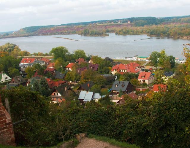 Wisła, Kazimierz Dolny, widok, wzgórze