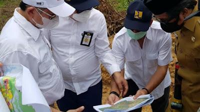 Titik Istana Negara, Menteri Suharso Meninjau Langsung Titik Nol IKN