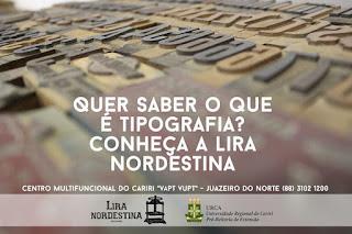 Foto divulgação facebook Lira Nordestina - Matéria Juazeiro do Norte - BLOG LUGARES DE MEMÓRIA