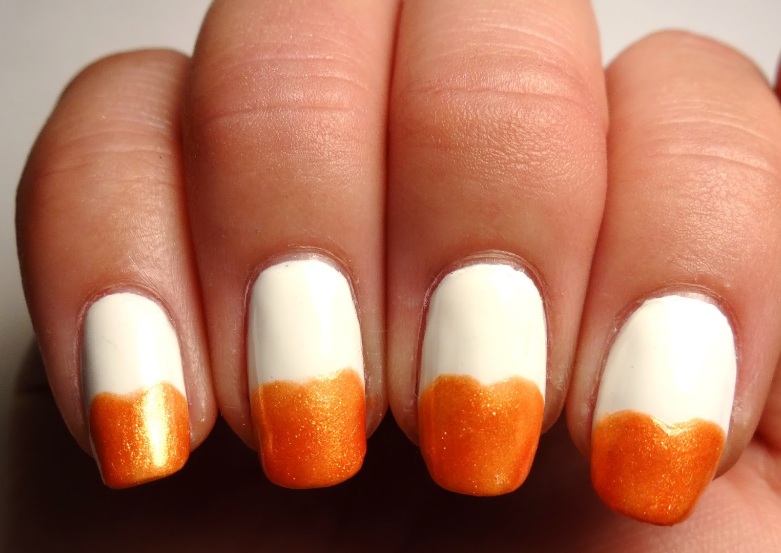 Pumpkin Nails