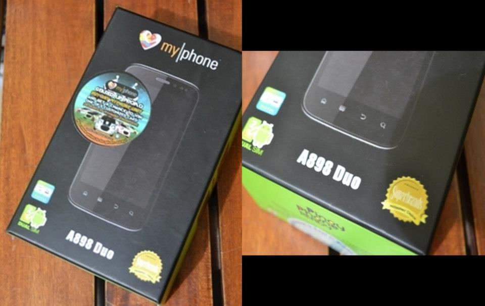 MyPhone A898 Duo Retail Box