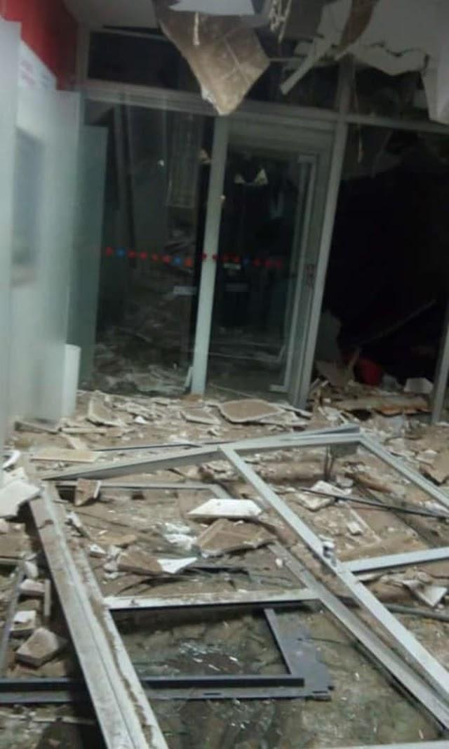 Grupo explode agência bancária em Salitre, no interior do Ceará