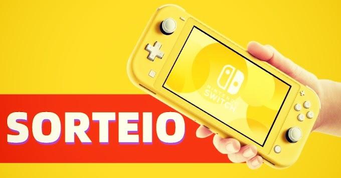 SORTEIO de Um Nintendo Switch Lite!